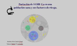Copy of Portación de SAMR-Co en una población sana: ¿un problema ter
