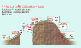 La teoria della Tettonica a zolle