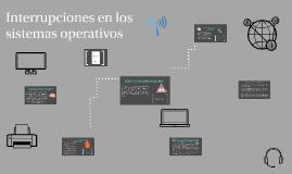 Interrupciones en los sistemas operativos