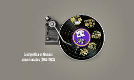 La Argentina en tiempos convulsionados