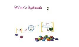 Vidur's Spinach