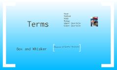 Measure of Central Tendencies