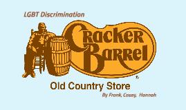 Copy of Cracker Barrel Sexual Orientation Discrimination Case