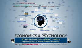 ECONOMICS & PSYCHOLOGY