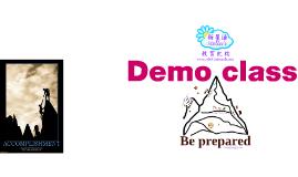 Demo Class Guide 2010