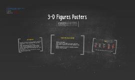 3-D Figures Posters