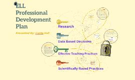 Copy of ELL Professional Development Plan