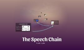 The Speech Chain