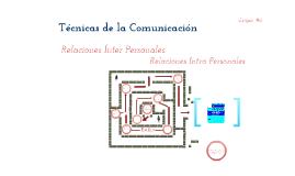 Tecnicas de la Comunicacion