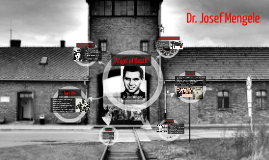 Copy of Dr. Josef Mengele