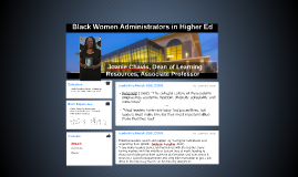 Black women in higher education