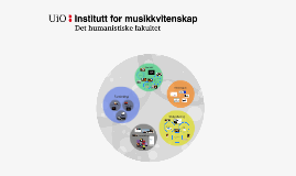 Institutt for musikkvitenskap - presentasjon