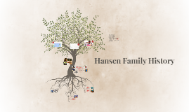 Hansen Family History