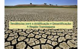 Desertificação...