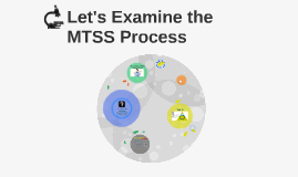 Let's Examine the  MTSS Process