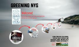 Greening NY State