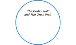 The Berlin Wall and The Great Wall