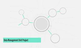 Data Management Unit Project