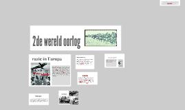 2de wereld oorlog