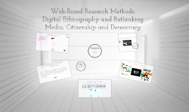 Copy of Web-Based Research Methods