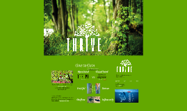 Thrive, Give to Gain - DDEC'15