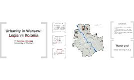 Urbanity in Warsaw: Legia vs Polonia