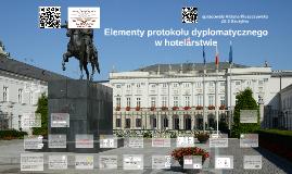 Elementy protokołu dyplomatycznego w hotelarstwie