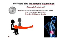 Protocolo para Treinamento Ergonômico