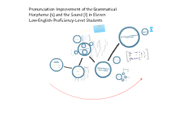 Pronunciation Improvement of the Grammatical Morpheme {s} and the Sound [I] in Low-Proficiency-Level Students