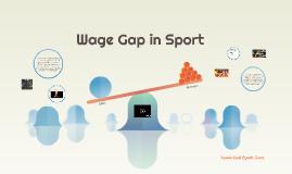 Wage Gap in Sport