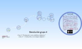 Devolución grupo 4