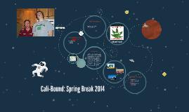 Cali-Bound: Spring Break 2014