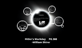 Hitler's Workday