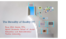 The Unreality of Reality TV: How It Impacts Our Children