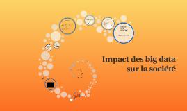 Impact des big data
