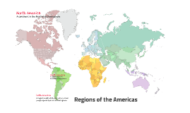 Regions of the Americas