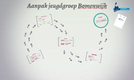 Aanpak jeugdgroep Bomenwijk