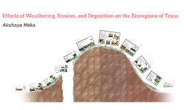 Effects of Weathering, Erosion, and Deposition on the Ecoreg