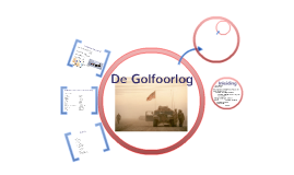 Copy of De Golfoorlog
