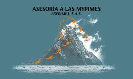 ASESORIA EN LAS MYPIMES