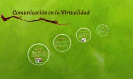 Comunicación en la Virtualidad