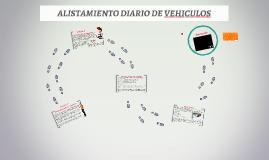 ALISTAMIENTO DIARIO DE VEHICULOS