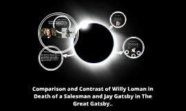 contrast death of a salesman and great gatsby