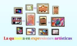 La química en expresiones artísticas