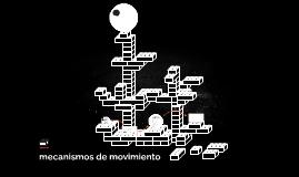 mecanismos de tramision de movimiento