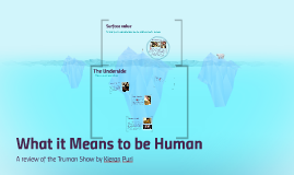 What it Means to be Human