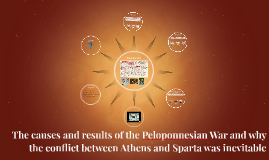 The causes and results of the Peloponnesian War and why the