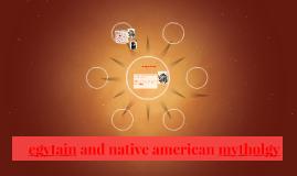 egyptian and native american mytholgy