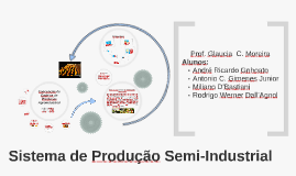 Sistema de Produção Semi - Industrial