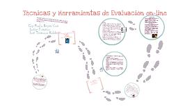 Copy of Técnicas y Herramientas de Evaluación on-line